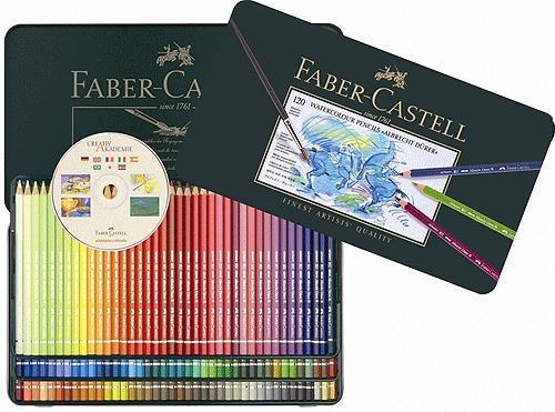 Faber-Castell輝柏 ARTISTS藝術家級專家水彩色鉛筆120色