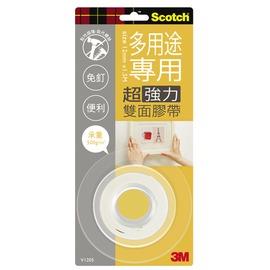 3M Scotch VHB超強力雙面膠帶-多用途專用12mm(V1205)