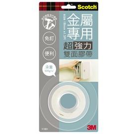 3M Scotch VHB超強力雙面膠帶-金屬專用18mm(V1801)