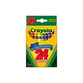Crayola 24色臘筆52-3024