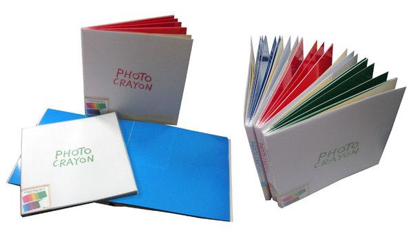 NCL 塗塗寫寫手繪彩色內頁自黏黏貼相本相簿 (DB-210)