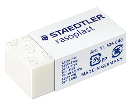 STAEDTLER 526 B40橡皮擦6入