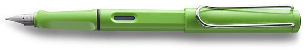 LAMY safari狩獵者2012限量蘋果綠鋼筆