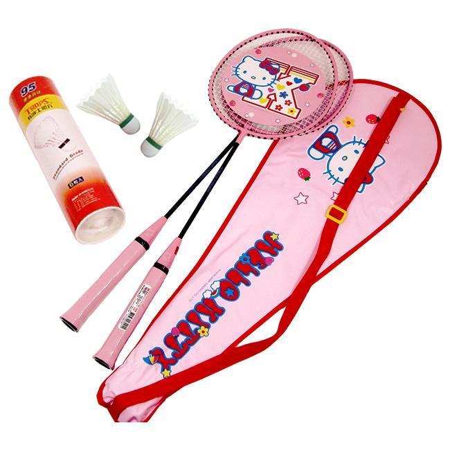成功 Hello Kitty 雙人羽球套裝 (雙拍A221+羽球45095) 羽球拍)【此商品因體積過大,無法超商取貨】