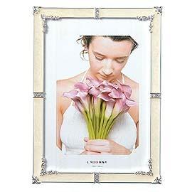 【筆坊】Ladonna Bridal百合情緣5X7水鑽相框 (MJ62-2L-WH)