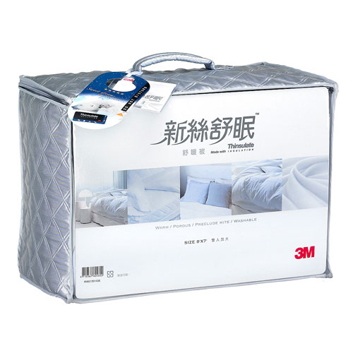 【3M】新絲舒眠-雙人舒暖被加大(8×7)
