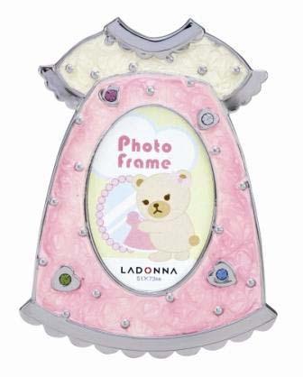 日本原廠 LADONNA Baby系列 夢幻水晶糖心洋裝相框2x3款(MB40-S2)