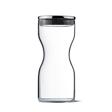 丹麥 Georg Jensen Alfredo Glass Jar 艾爾菲雷多 玻璃密封罐 (高 13.5cm, 0.25L)