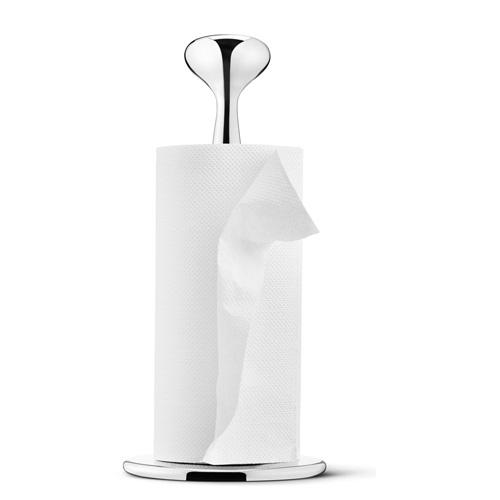 丹麥 Georg Jensen Alfredo Kitchen Roll Paper Holder 艾爾菲雷多 不鏽鋼 紙巾架,Alfredo Haberli 設計