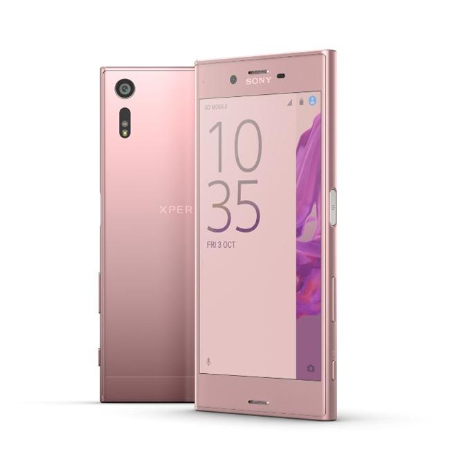 【山茶花粉】SONY Xperia XZ 5.2吋 4G+3G雙卡雙待防水智慧型手機(F8332)◆送原廠側掀皮套(SCSF10)+螢幕保貼+香芬蠟蠋