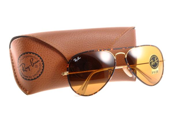 Ray Ban 雷朋 琥珀&玳瑁金邊 RB3025JM 太陽眼鏡