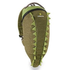 *babygo*英國 LittleLife 鱷魚造型防水背包