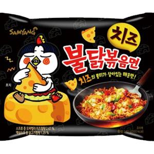 韓國 (起司)噴火辣雞肉風味炒麵(單包) [KR234]