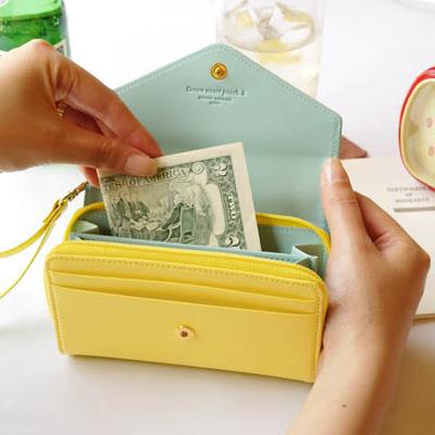 皮夾 皇冠donbook 零錢包 手機包 中夾短夾卡包 【SV2804】快樂生活網