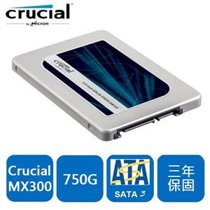 Micron Crucial MX300 750GB SSD 固態硬碟