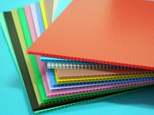 全張塑膠瓦楞板 PP瓦楞板 厚度5mm廣告板 瓦愣板 (加厚)60cm x 100cm/一袋10大張入{定120}