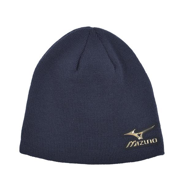 日本同步限量MIZUNO PRO 針織帽  12JW5B0114 (深藍)【美津濃MIZUNO】
