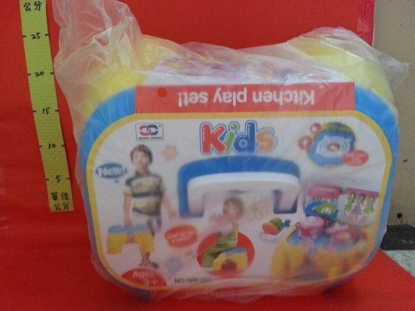 兒童多功能遊戲椅 廚房組 (黃)#家家酒玩具