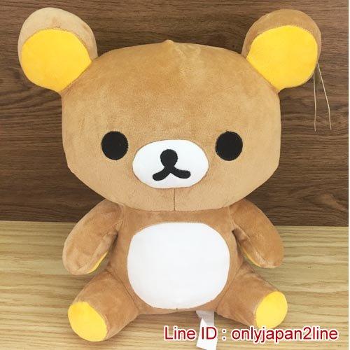 【真愛日本】16120300002坐娃-12吋懶熊     拉拉熊 Rilakkuma 娃娃 抱枕 靠枕