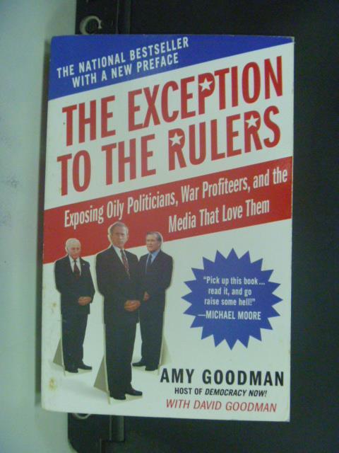 【書寶二手書T6/政治_OGN】The Exception To The Rulers_Goodman