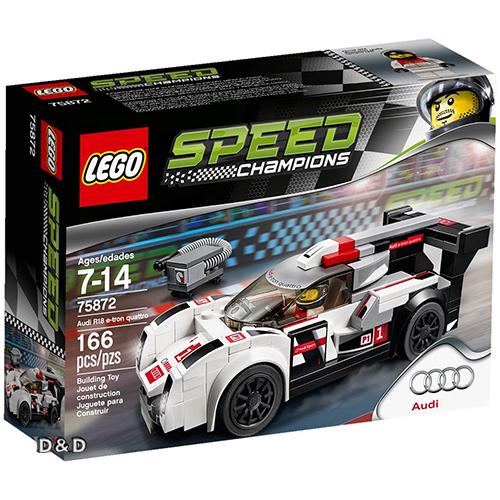 樂高積木 LEGO《 LT75872 》SPEED CHAMPIONS 系列 - Audi R18 e-tron quattro