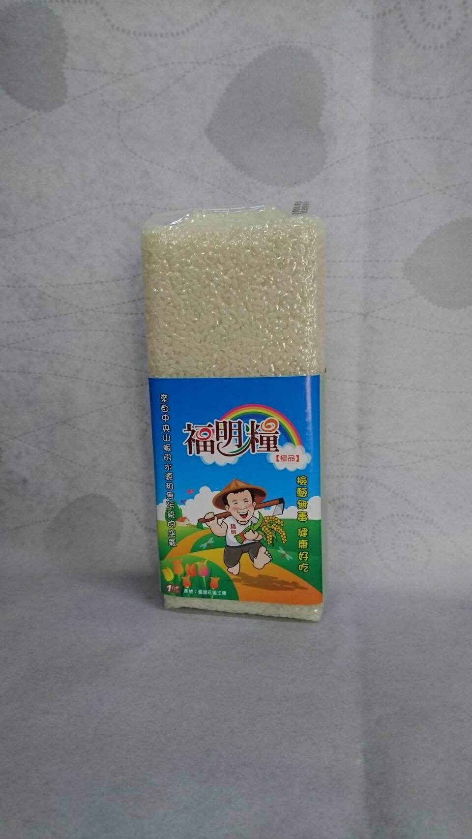 台中194號香米(糙米) 1公斤裝【米 】花東優質福明糧(玉里米)【26康健樂活館】