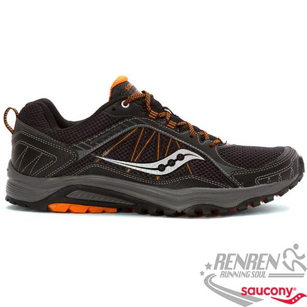 SAUCONY  EXCURSION TR9 男慢跑鞋 (黑) 耐磨 避震