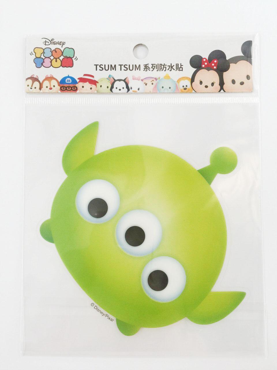 【真愛日本】16011200038  TSUM防水貼紙-三眼怪   玩具總動員 三眼怪 迪士尼 裝飾貼紙 PVC 貼紙