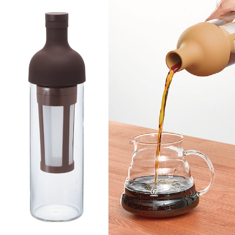 HARIO FIC-70 冷泡咖啡瓶 650ml 咖啡色