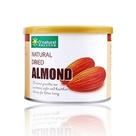 歐納丘 美國加州杏仁果原味190g 一罐