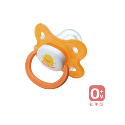 【悅兒樂婦幼用品舘】Piyo 黃色小鴨 拇指型安撫奶嘴(初生型)