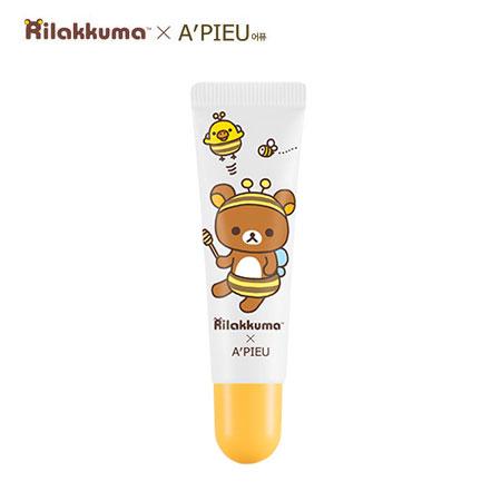 韓國 A'PIEU 拉拉熊蜂蜜牛奶唇部去角質 10ml 磨砂唇霜 去角質 Rilakkuma A pieu Apieu 拉拉熊聯名款【B062542】