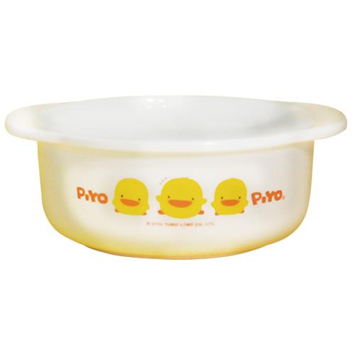 ★衛立兒生活館★PiYo黃色小鴨-雙耳碗(微波爐專用)