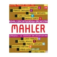 RCO Live 馬勒:第1-10號交響曲、大地之歌(Mahler: Symphonies 1-10, Das Lied Von Der Erde)【11Blu-rayDisc】