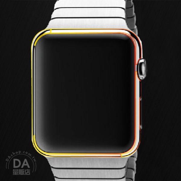 《DA量販店》Apple watch 亮面 透明 保護貼 保護膜 38mm(V50-1053)