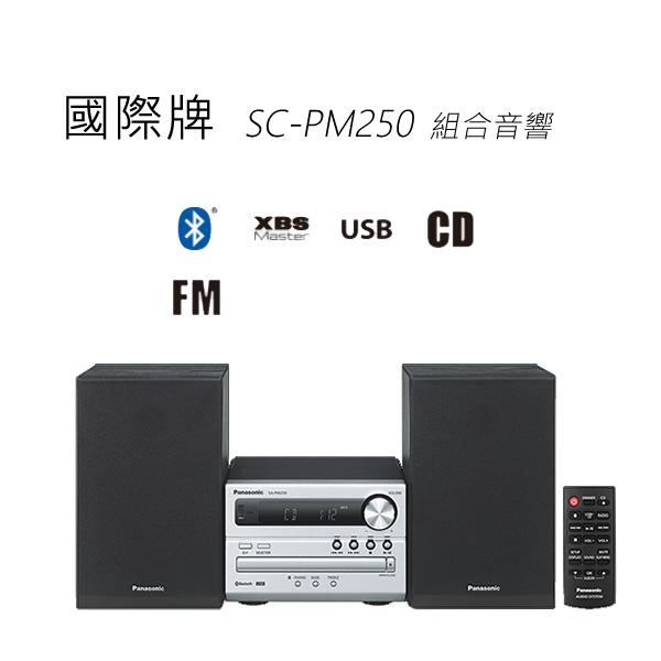 Panasonic 國際牌 SC-PM250 組合音響