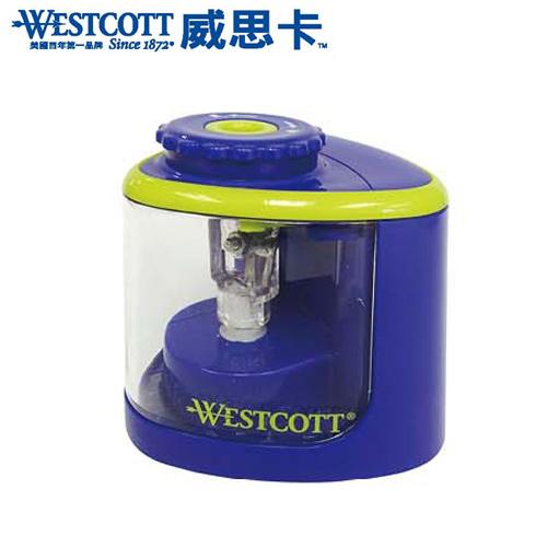 WESTCOTT威思卡16388/No.16389 鈦金屬刀頭兩用電動削筆機