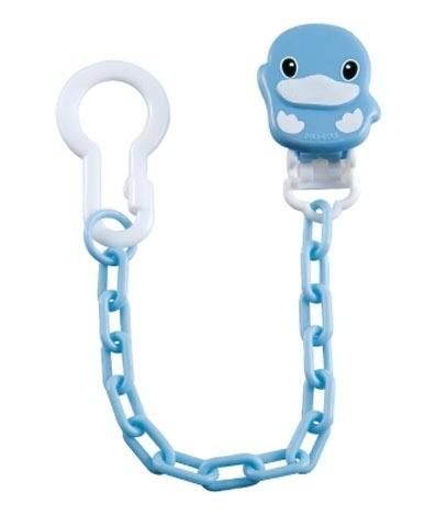 【全系列滿$500送夜燈玩具】台灣【Kuku 酷咕鴨】造型奶嘴鍊