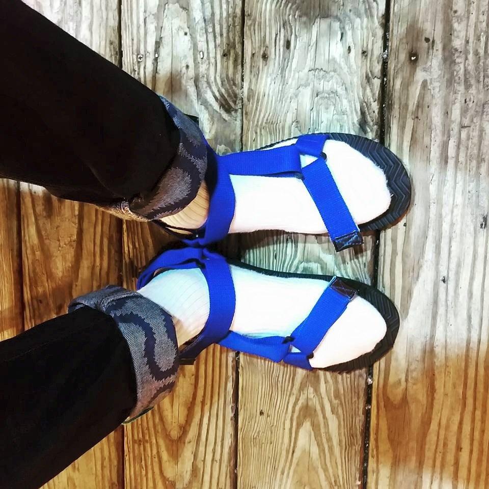 韓國 男 羅馬 涼鞋 正版