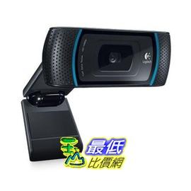 [美國直購] 羅技 Logitech HD Pro 網路攝影機 C910  FULL HD