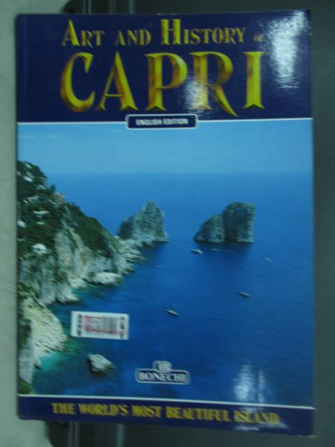 【書寶二手書T7/藝術_PPS】Art and history of capri