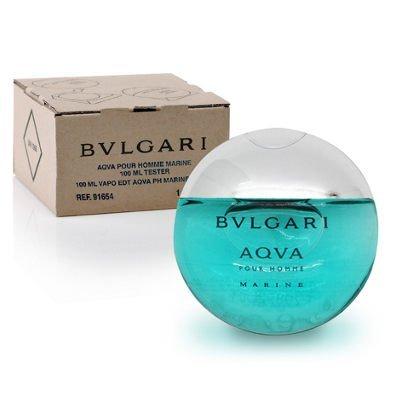 寶格麗 AQVA Marine 活力海洋能量男性淡香水 TESTER 100ML ☆真愛香水★ 另有禮盒