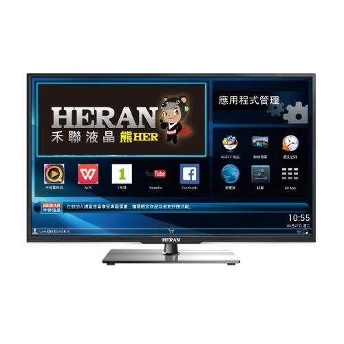 【禾聯HERAN】58吋LED液晶顯示器(HD-58AC3+視訊盒)