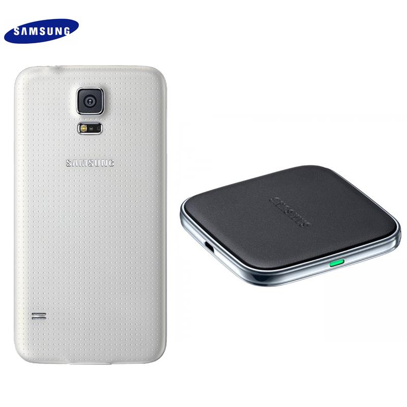 Samsung Galaxy S5 I9600 G900i 原廠 無線充電組/無線充電板/充電背蓋/國際QI標準/東訊公司貨/原廠盒裝