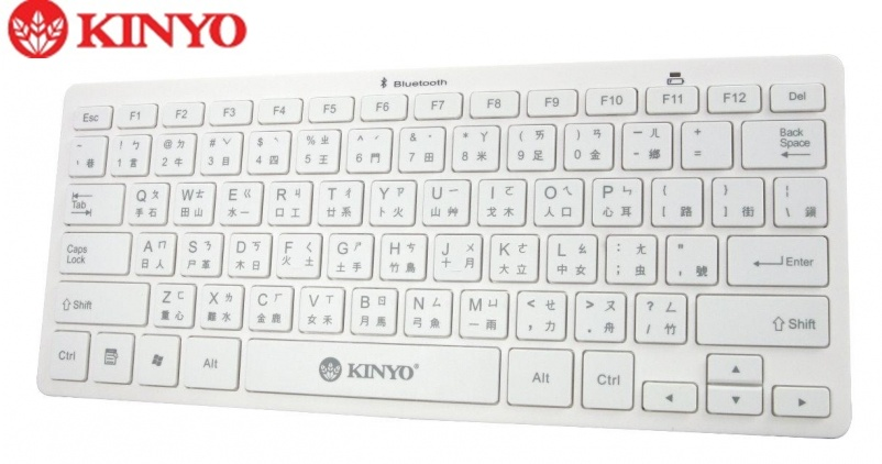 KINYO BKB-33 藍牙無線鍵盤/ 藍牙3.0 / 鍵盤/APPLE/HTC/SAMSUNG/SONY/小米/NOKIA/LG