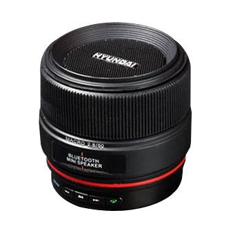 HYUNDAI現代 鏡頭造型無線藍牙行動喇叭 i300 Pro/藍牙喇叭/手機通話/藍牙3.0/音樂播放