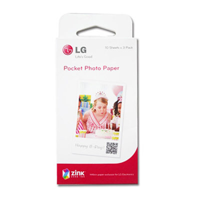 LG Pocket photo PD221 / 2.0 PD233 / 3.0 PD239 原廠口袋相印機 相印紙/相片紙/相機紙