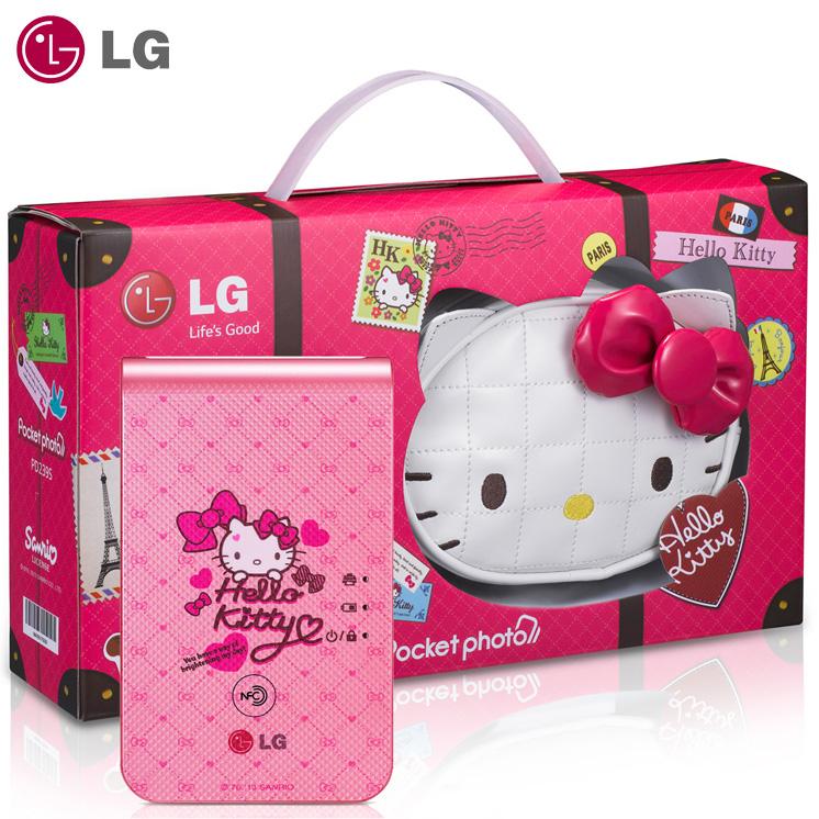 LG Pocket photo PD239 第三代 Hello Kitty 限定版 原廠口袋型相印機/智慧隨身相片列印機/相印機/照片列印