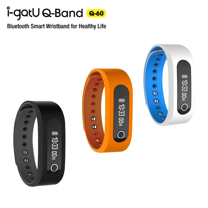 i-gotU Q-60 Q-Band 藍牙4.0 智慧健身手環/藍芽手環/Samsung Note2 N7100/3 N9000/4 N910U/S3/S4/S5/mini/Sony Z/Z1/Z2/Z3/LG Nexus4/5/G2/G3