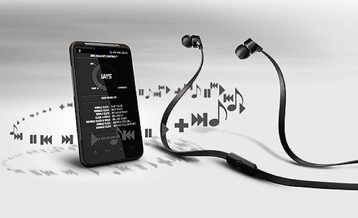 JAYS a - JAYS One+ PLUS Smart Phone 麥克風音樂專業耳機 高階耳機 重低音/耳道式/入耳式/耳塞式耳機 麵條/扁線/扁平線